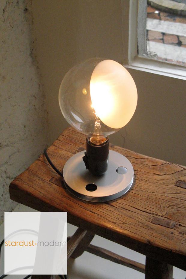 lampadina design : modern interior design: LAMPADINA transparent bulb light by FLOS