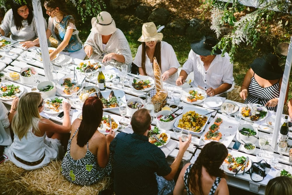 Eat read love the kinfolk table long lunch for The kinfolk table