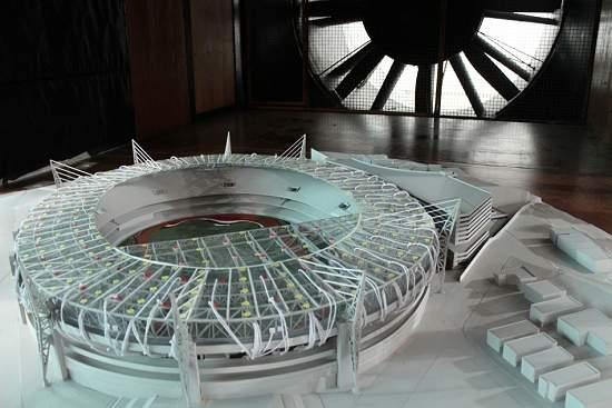 Estádio do Morumbi vai para o túnel de vento