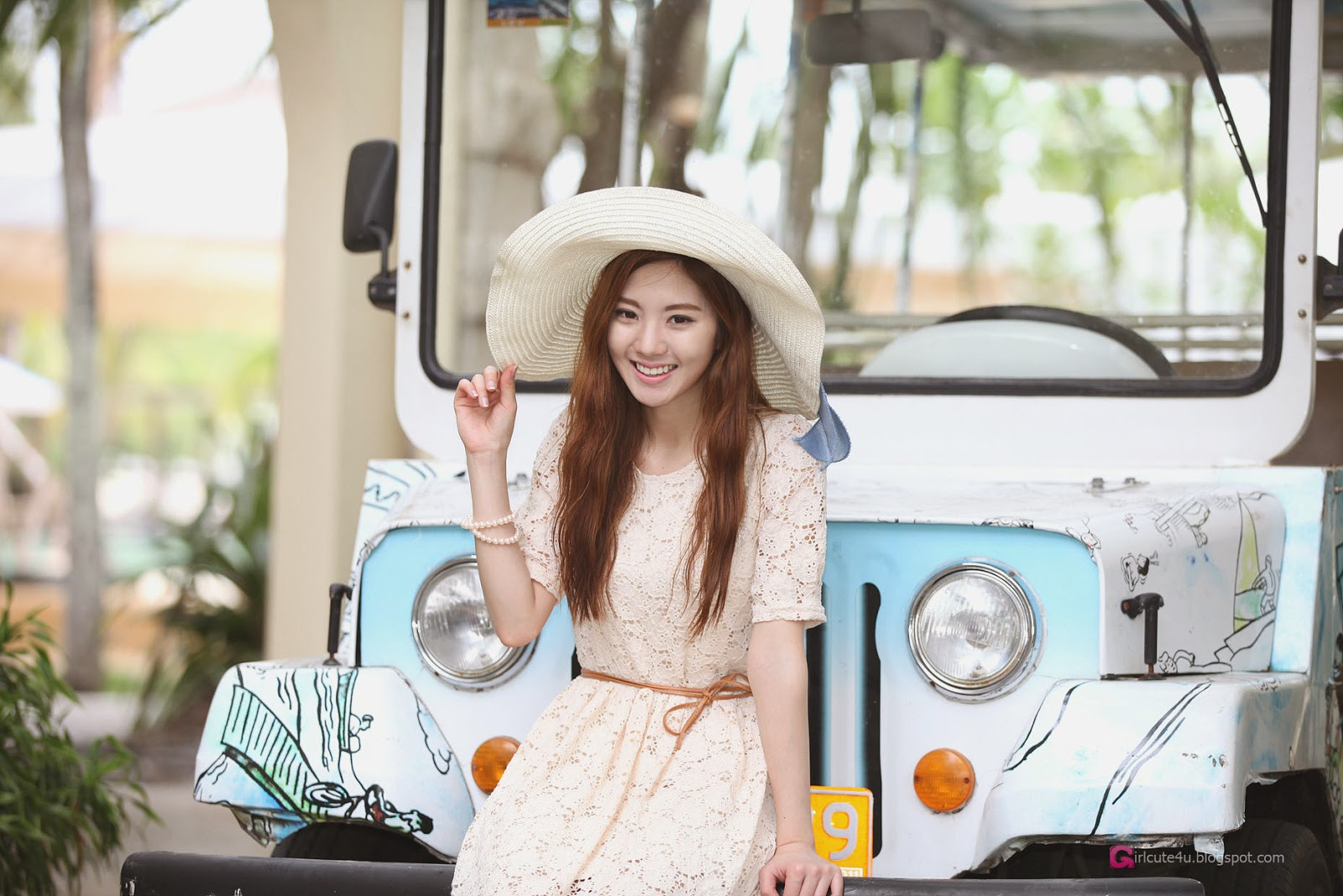 1 Chae Eun - Resort Tour - very cute asian girl-girlcute4u.blogspot.com