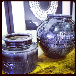 retro glazed pots interior decorator brisbane fortitude valley curtains blinds shop