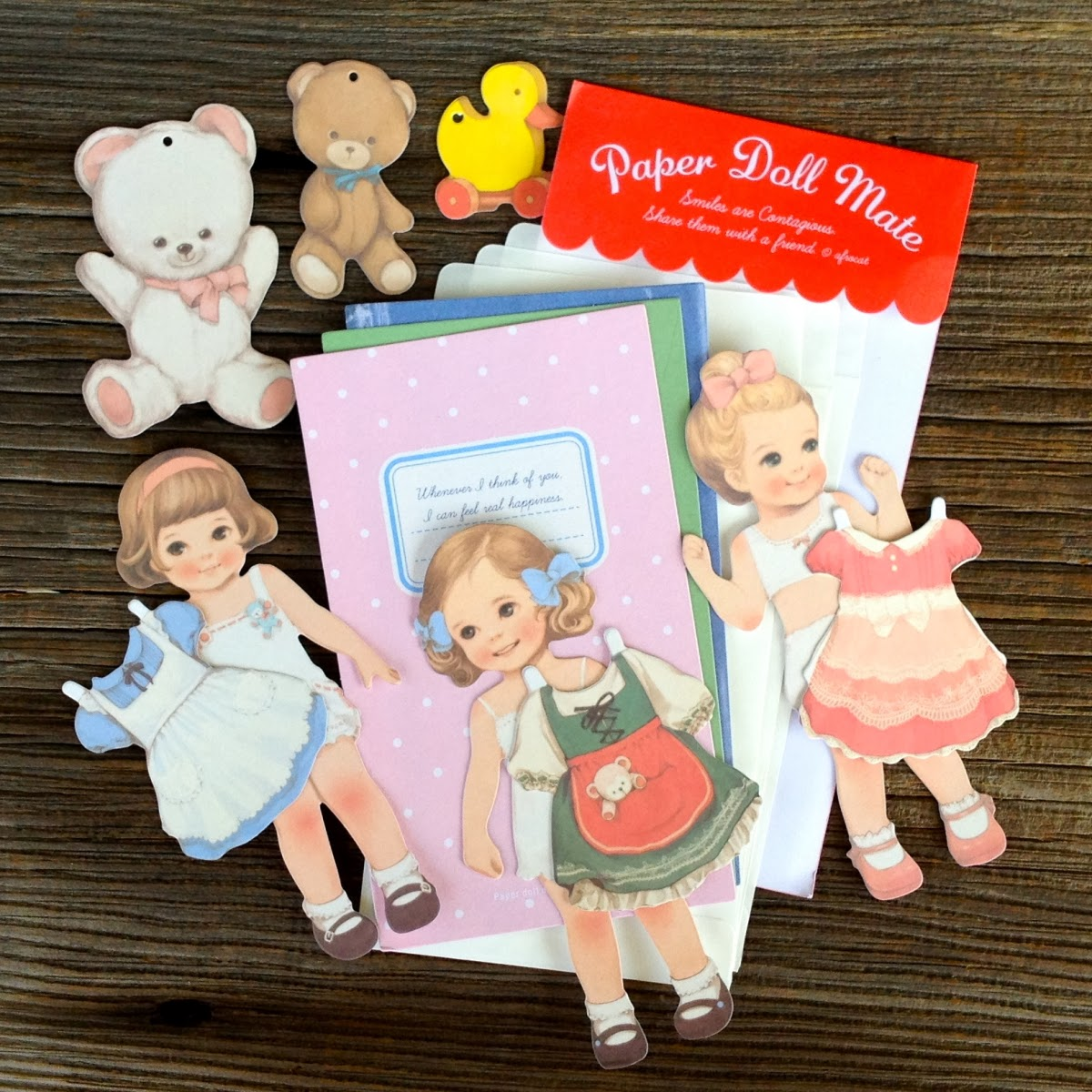 Paper Doll Card Set Outside the Box Papers