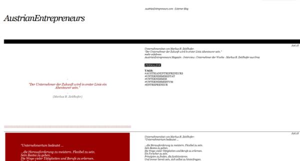 AustrianEntrepreneurs.com auf Tumblr. Austrian Entrepreneurs Blog.