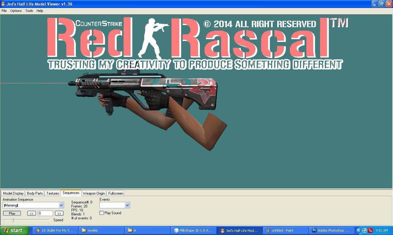 Hai gan, kali ini saya share senjata AUG A3 Blitz GSL, memang di game ...