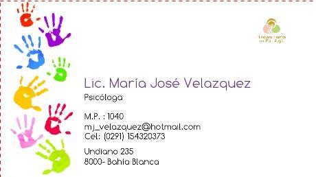 Lic. María José Velazquez