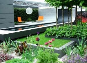 Anda sedang memabngun rumah dengan berbagai tipe Inilah Desain Taman Kecil Didepan Rumah