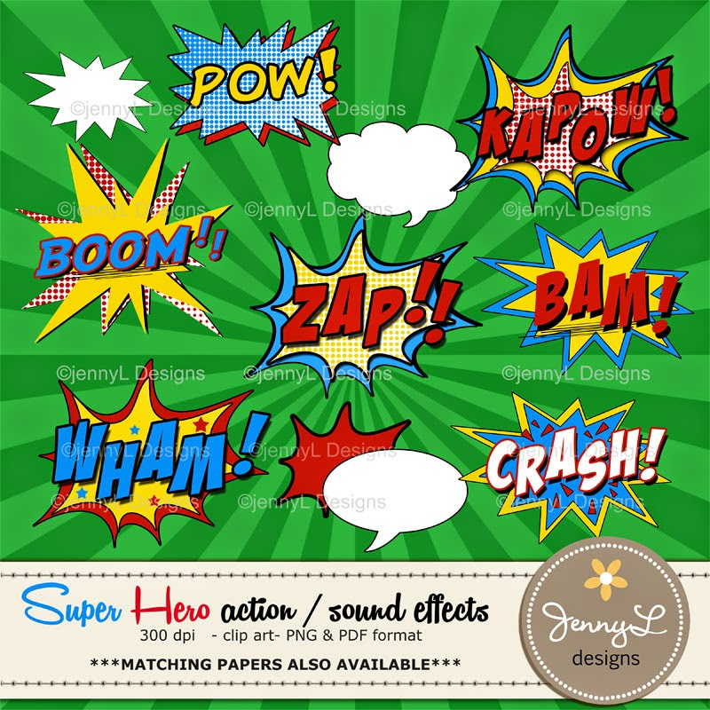 https://www.etsy.com/listing/206218518/superhero-comic-sound-effects-clipart