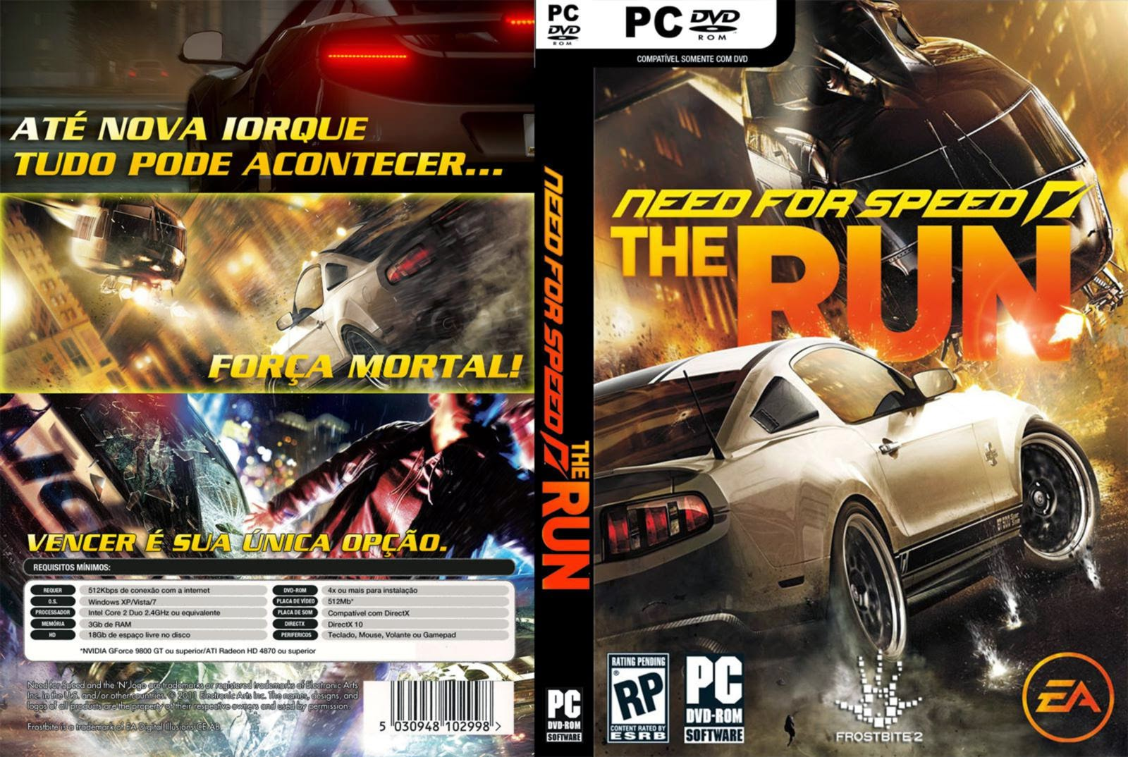 Need for Speed The Run pc capa