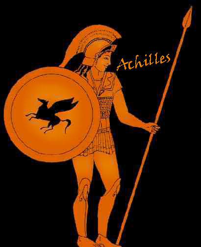 greek god achilles symbol
