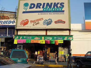 """Drinks Depot""sucursal Villada"