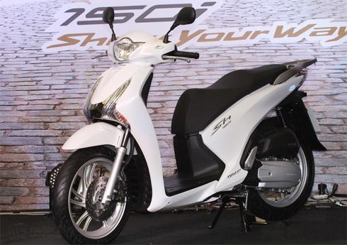 Honda SH150i giá 3.360 USD trình làng tại Thái Lan