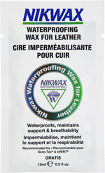 Échantillon Gratuit de Cire imperméabilisante pour cuir de Nikwax !
