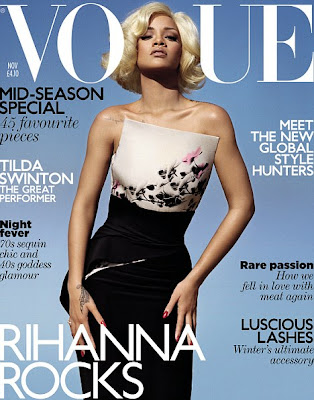 Rihanna en couv' de Vogue UK