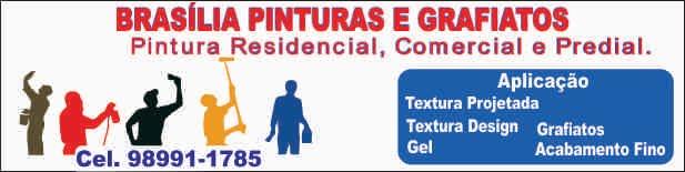 BRASÍLIA PINTURAS E GRAFIATOS