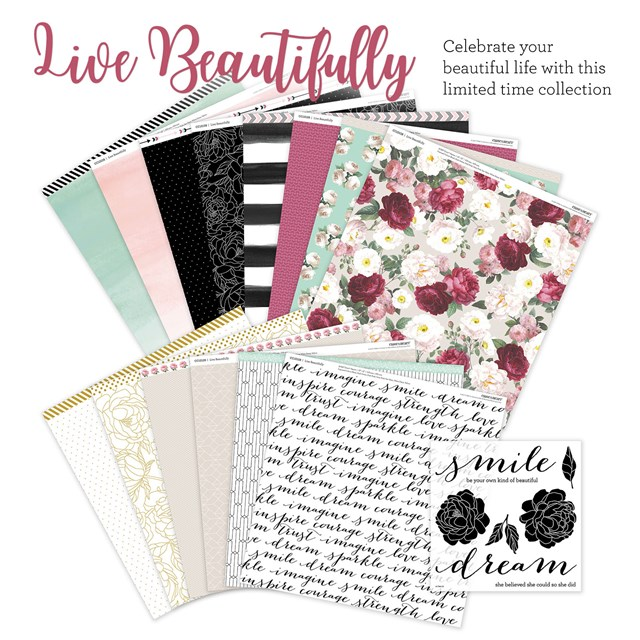 Butterfly Hearts Scrapbooking and Paper Crafts