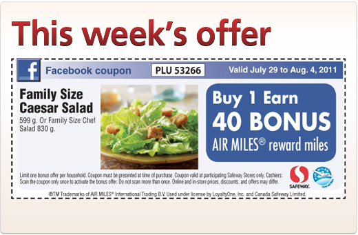 Money saver coupons canada