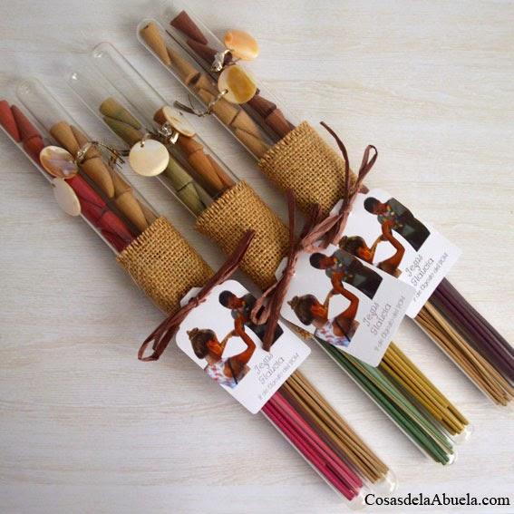 Cosas de la abuela conos o varillas de incienso mejor for Detalles decoracion boda