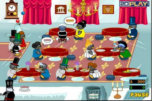 penguin diner 4 free online game