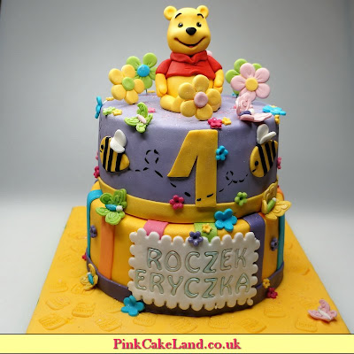birthday cake winnie pooh - london patisserie