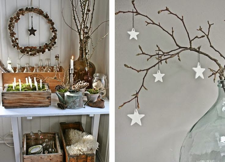 Paris l 39 ouest diy no l scandinave - Deco de noel scandinave ...
