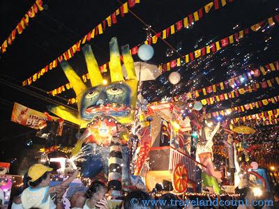 Giant Floats at Electric Masskara Bacolod