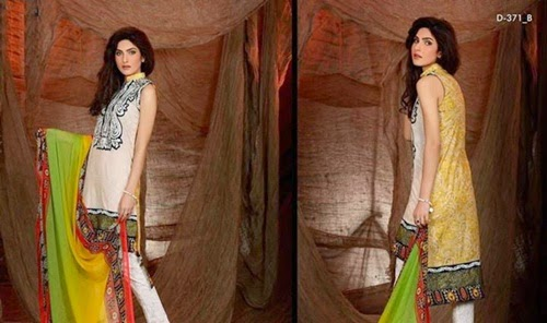 Zainab Embroidered Lawn 2014