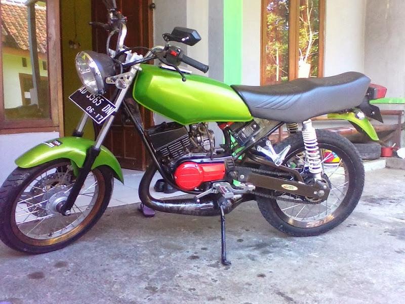 Judul: Gambar Modifikasi Motor Yamaha RX King Terbaru 2014 title=