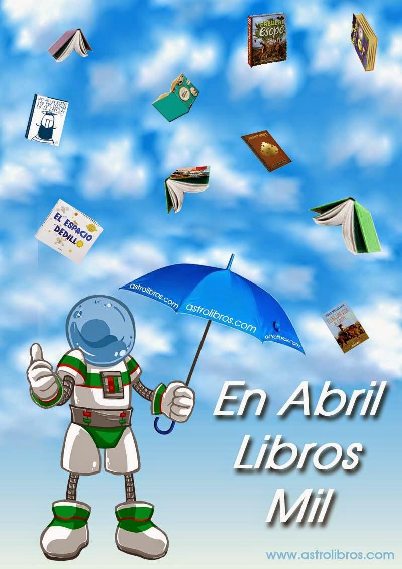 Abril mes del libro. astrolibros librería infantil-juvenil