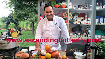 Chef Matt Abdoo of Del Posto Restaurant in New York City leads Family Dinner Cooking Demonstrations at New York Botanical Garden, Bronx, New York in support of The Edible Academy