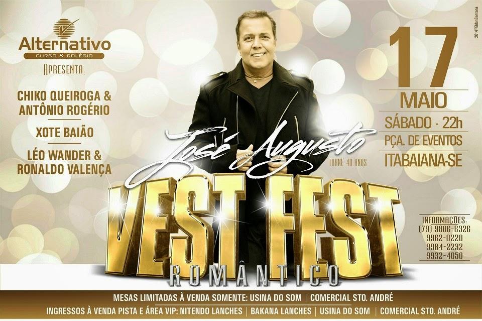 VEST FEST ROMÂNTICO - ITABAIANA 2014