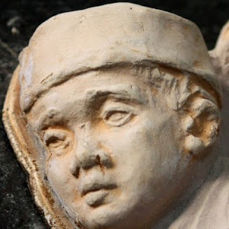 Memorial Relief, Detail (Boy)