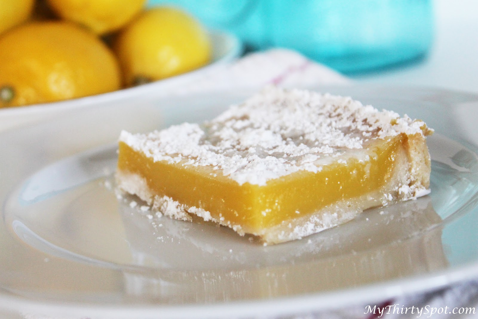 The Best Lemon Bars - Ready For Spring - MyThirtySpot