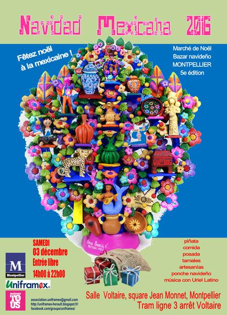 Noël à la mexicaine - Navidad mexicana - 2016