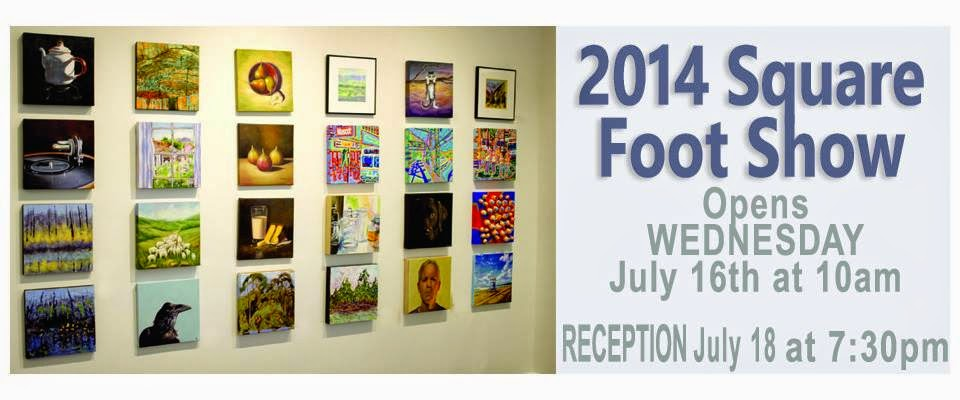 Westland Gallery 2014 Square Foot Show