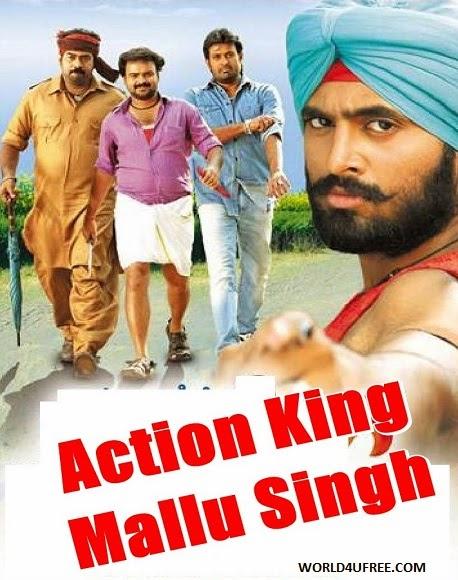 Action King Mallu Singh 2014 Hindi Dubbed WEBRip 700mb