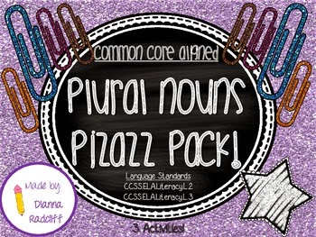 http://www.teacherspayteachers.com/Product/Plural-Nouns-Pizazz-Common-Core-Aligned-963128