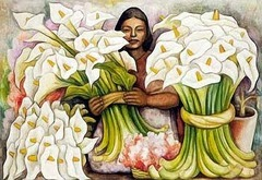 Diego Rivera, La vendedora de alcatraces