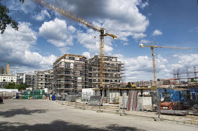 Baustelle Flottweilerstraße, zwischen Pohlstraße und Lützowstraße,10785 Berlin, 13.07.2013