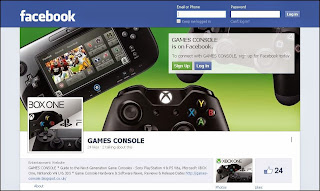 GAMES CONSOLE on Facebook