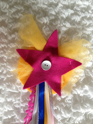 DIY princess wand felt