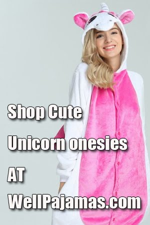 Shop unicorn onesies at wellpajamas.com