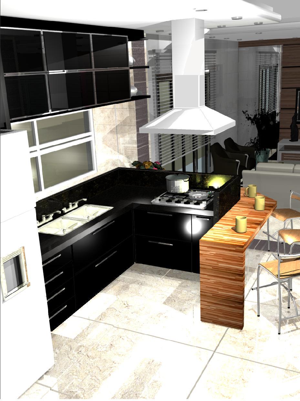 Cozinha Pequena Preta E Branca Cozinha Williamb Pinterest Cozinha
