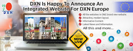 The DXN Europe Website is now live