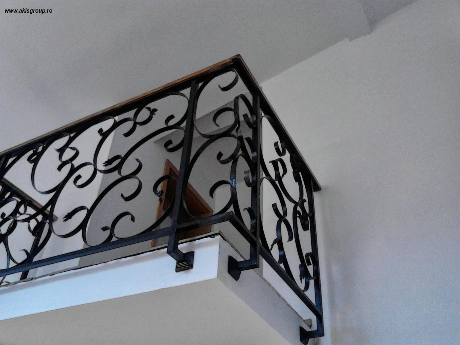 scari de interior balustrade fier forjat deosebite. Black Bedroom Furniture Sets. Home Design Ideas
