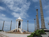 Ghandi Statue in Pondicherry