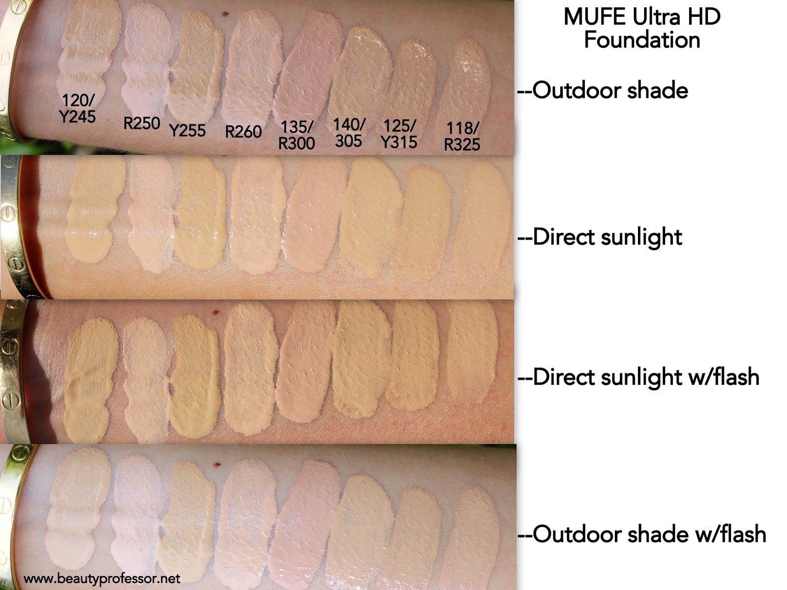 Beauty professor mufe ultra hd invisible cover foundation make up for ever ultra hd foundation swatches nvjuhfo Gallery