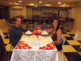 Jantar romântico em comemoração ao dia dos namorados no Spa Med