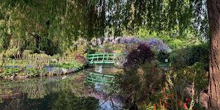 voyage en Normandie et visite du jardin de Monet