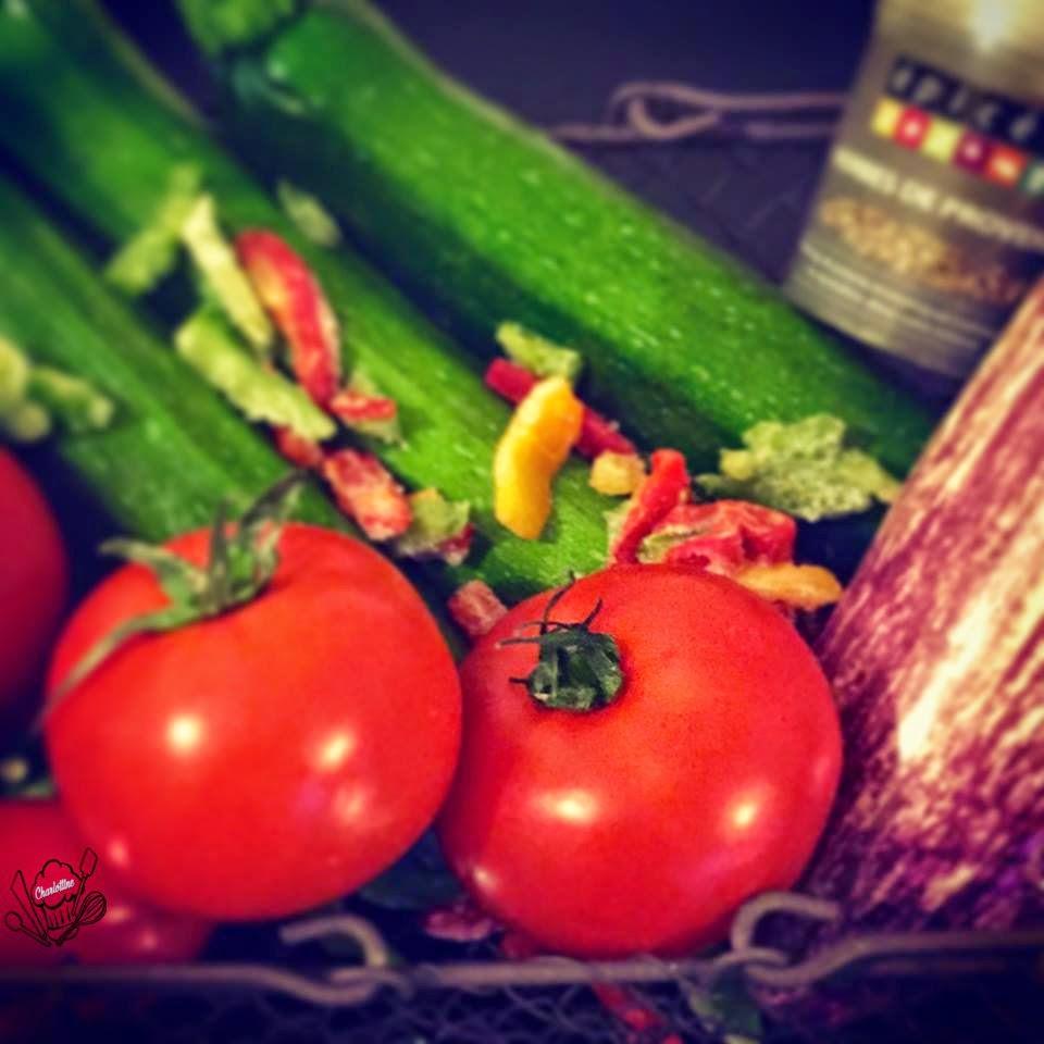 panier de légumes pour ratatouille