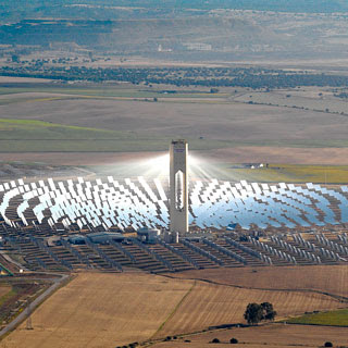 Concentrating Solar Power - Power Tower.